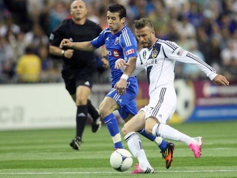 David Beckham de nuevo fue el héroe del Galaxy al darles un punto...