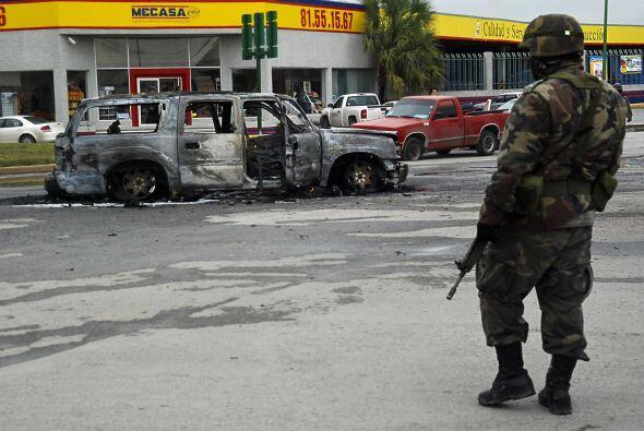 La violencia ha recrudecido por la lucha dentre los cárteles del narcotr...