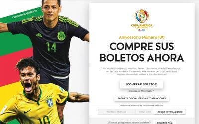 A la venta los boletos individuales para Copa América Centenario 2016