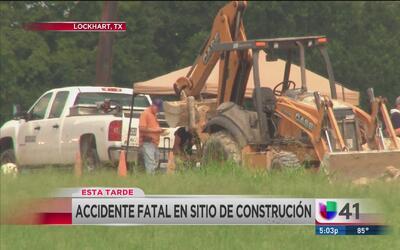 Fatal accidente cobra la vida de un trabajador de la construcción