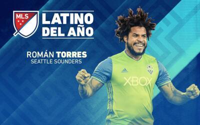 Román Torres elegido Latino del Año de la MLS 2016