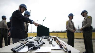 El control de armas en Estados Unidos sigue siendo un tema controversial