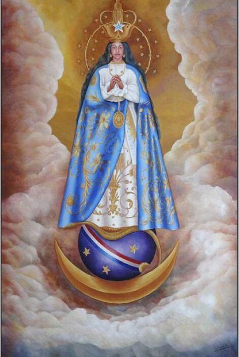 La Virgen de de Caacupé es la más adorada por los paraguayos. El santuar...