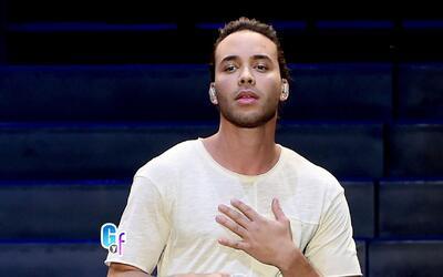 Prince Royce le mandó besitos a Raúl desde los ensayos