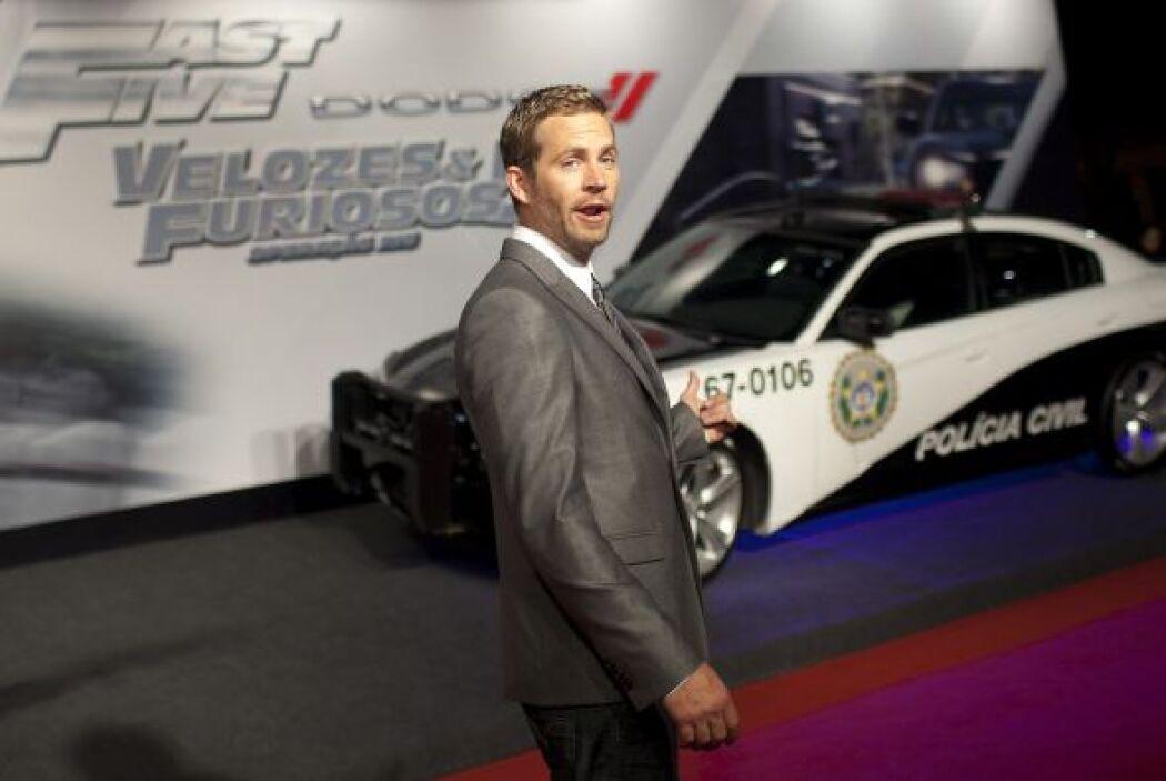 """En 2011, llegó la quinta parte de """"Fast and Furious"""". Cada nueva cinta s..."""