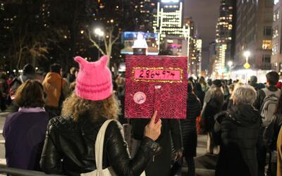 La manifestación We Stand United buscó enviar un mensaje d...