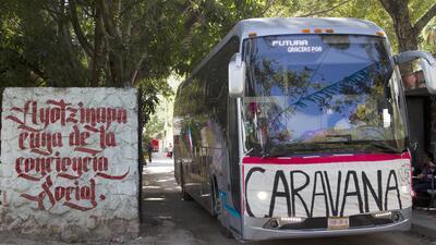 Inician en Guerrero caravana nacional debido a la ola de violencia en el...