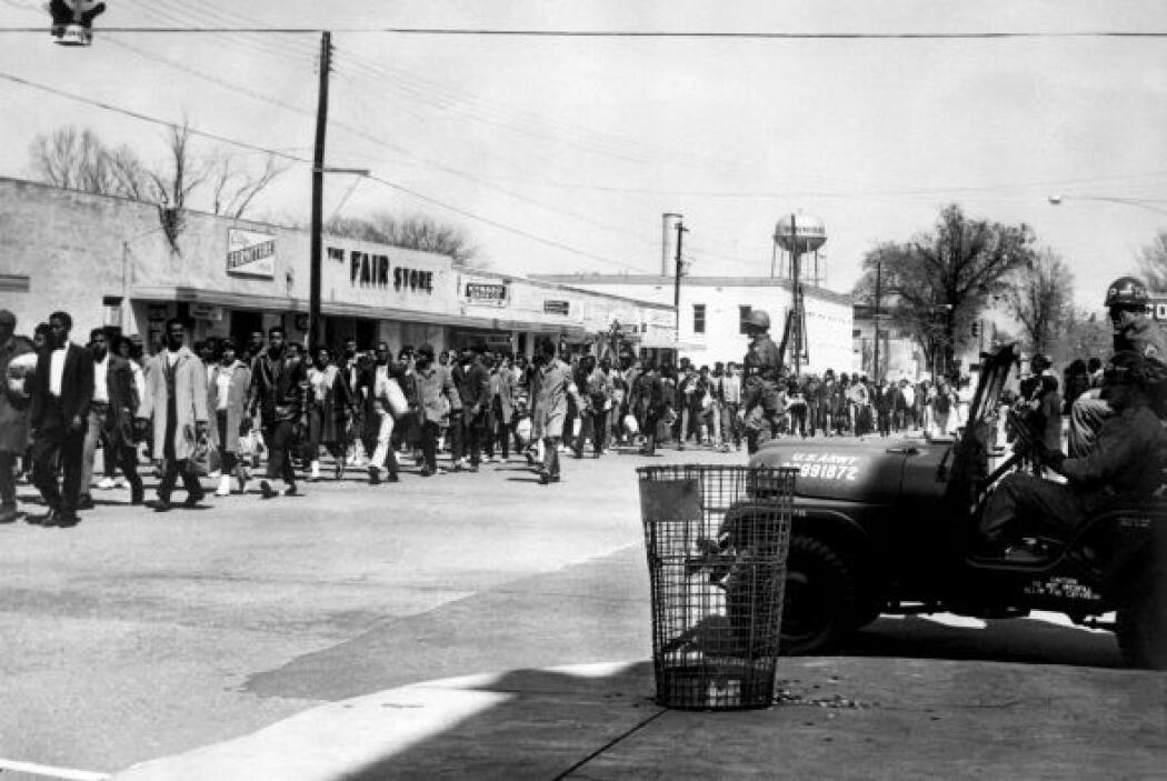 King lideró varias campañas en el sur del país, donde la segregación cas...