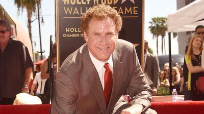 Will Ferrell recibió su estrella en el Paseo de la Fama en Hollywood