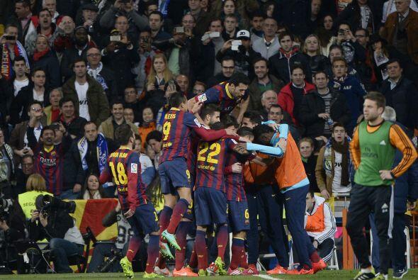 Barcelona, el equipo que no llegó como favorito a este duelo, el...