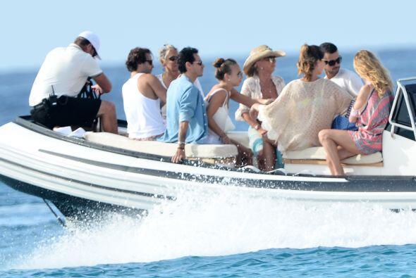 Eligieron un divertido paseo en bote. Mira aquí los videos más chismosos.