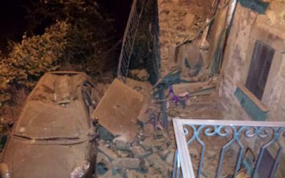 Primeras imagenes del terremoto en el centro de Italia