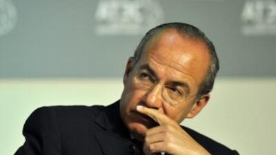 El presidente mexicano Felipe Calderón.