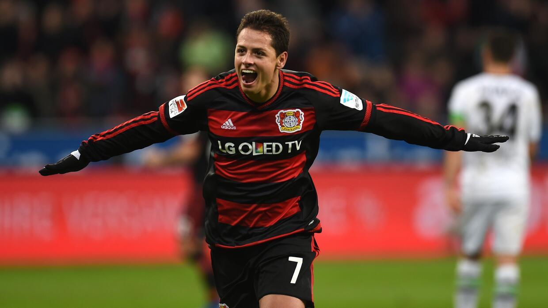 Chicharito lleva 19 goles con el Bayer Leverkusen