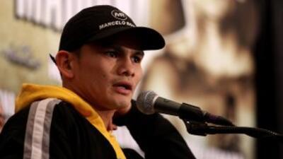Marcos Maidana le pidió la revancha a Amir Khan.