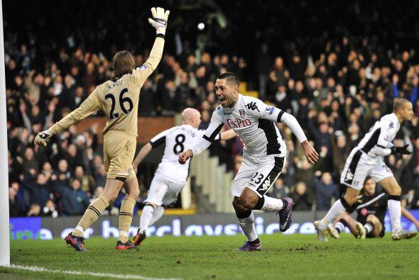 Convirtió 3 goles que valen oro para el Fulham.