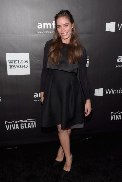 Con ese vestidito, creímos que Melissa Sears iba a un funeral y no a una...