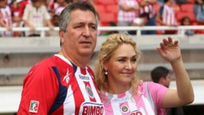 Jorge vergara y su esposa.