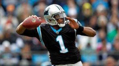Excepcional temporada de Cam Newton con los Panthers, con los que mostró...