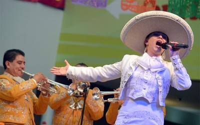 Cantante mariachi