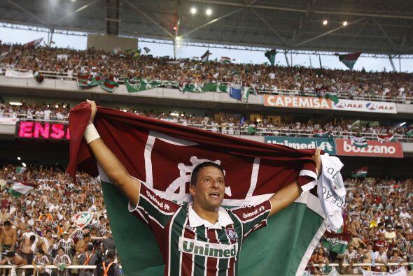 Fluminense se coronó campeón luego de 26 años pero su goleador, Washingt...