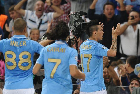 El conjunto del sur de italia se puso en ventaja mediante un bonito gol...