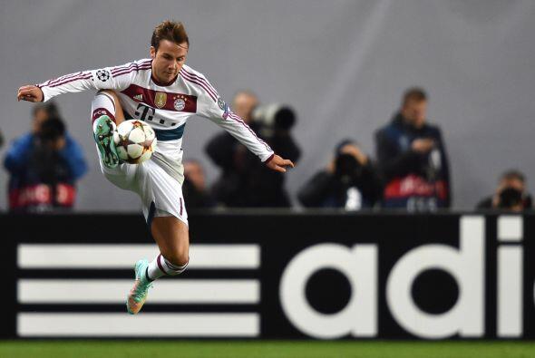 El equipo alemán fue mejor que los rusos durante los 90 minutos.