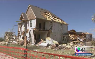 Graves daños por tormentas en el área de Fort Worth