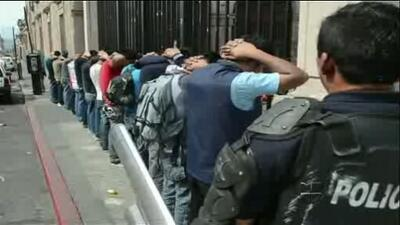 Violentos enfrentamientos en Michoacán, México