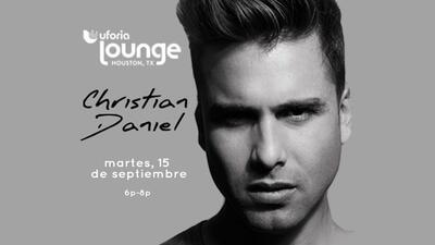 Christian Daniel en Uforia Lounge