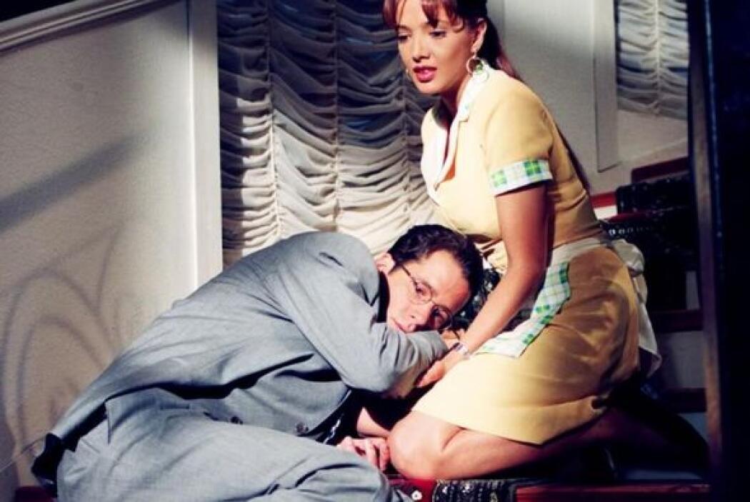 """Adela Noriega y Fernando Carrillo protagonizaron """"María Isabel"""" en 1997."""