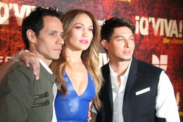 """El trabajo volvió a unir a Marc y Jennifer, para el reaity """"..."""