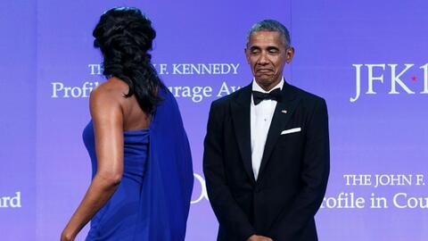 El romance de los Obama continúa fuera de la Casa Blanca