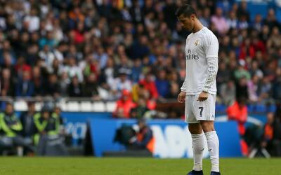 Cristiano Ronaldo hizo dos goles pero no pudo celebrar.