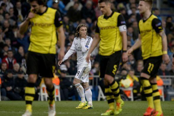 Isco ponía las cosas 2-0 y el Dortmund estaba mostrando sus caren...