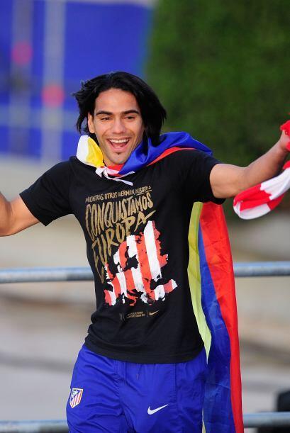 Lo de Radamel Falcao García fue para aplaudir. Llegó al Atlético de Madr...