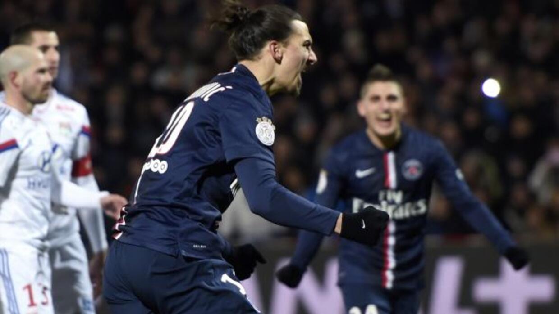 El penalti marcado por Ibrahimovic permitió que el PSG igualara con el L...