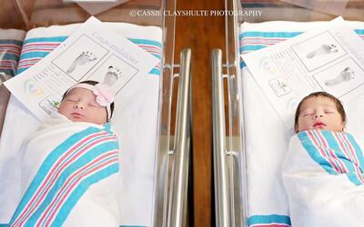 Dos bebés nacen en el mismo hospital y, sus padres sin saberlo, les llam...