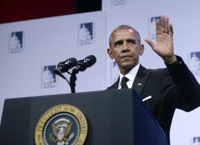 Obama en el Caucus Hispano estadounidense
