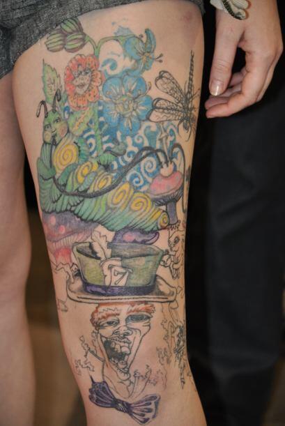 Cientos de amantes de los tatuajes estuvieron presentes para presumir la...