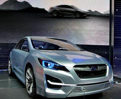 Visión de futuro...La firma japonesa Subaru presentó la nueva versión de...