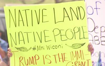 Miles de personas de todo Texas se reunieron en Austin para protestar en...