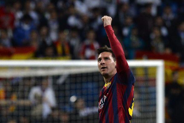 Se escuchaba el silbatazo final y Messi, como ya lo había hecho e...