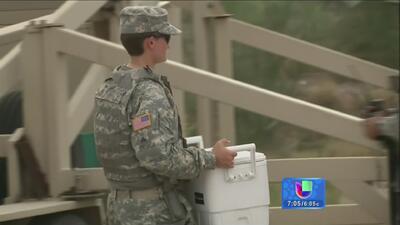 Soldados estadounidenses ya refuerzan la frontera con México