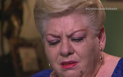 Del dolor nacieron las canciones de Paquita la del Barrio