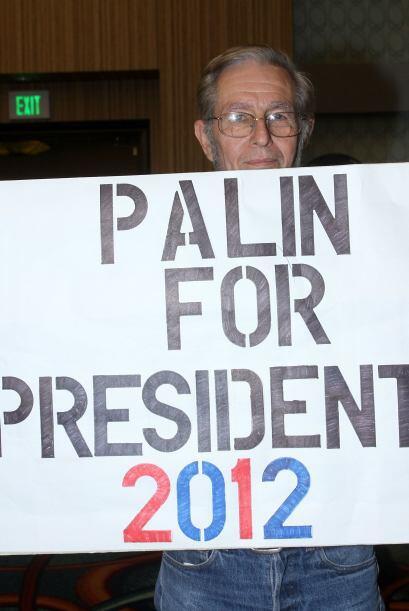 Palin, ex gobernadora de Alaska (noroeste de Estados Unidos), fue sacada...