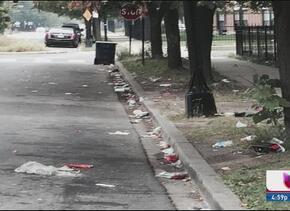 Vecinos exigen limpieza de parque