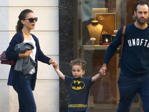 Natalie Portman se dejó ver en familia y ¡no podíamo...