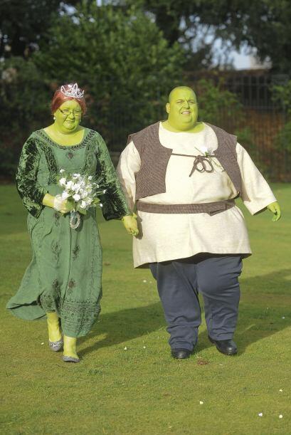 Y vaya que fue muy especial y peculiar. Esta boda temática será muy difí...