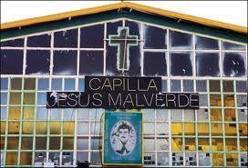 Jesús Malverde- considerado el santo de los narcotraficantes- tiene su p...